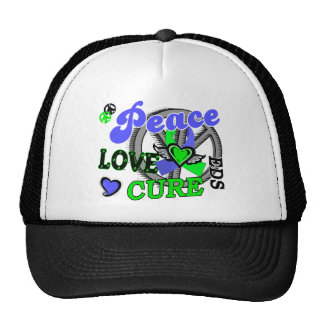 Peace Love Cure 2 EDS Mesh Hats