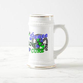 Peace Love Cure 2 EDS Mug