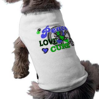 Peace Love Cure 2 EDS Pet Shirt