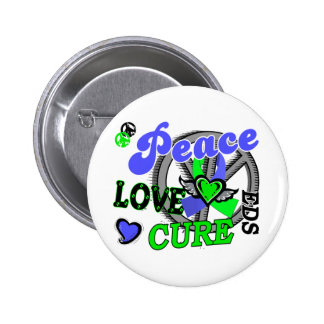 Peace Love Cure 2 EDS Pins
