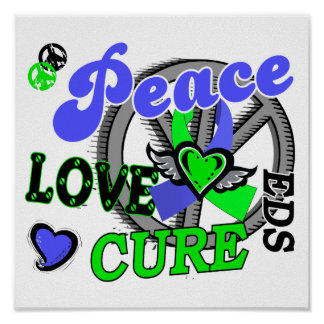 Peace Love Cure 2 EDS Posters