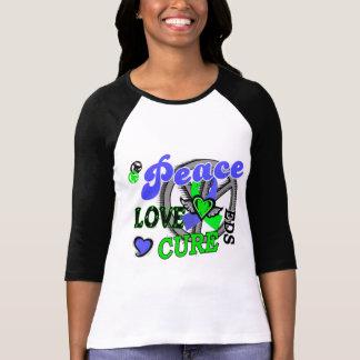 Peace Love Cure 2 EDS Tshirts