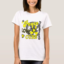Peace Love Cure 2 Endometriosis T-Shirt