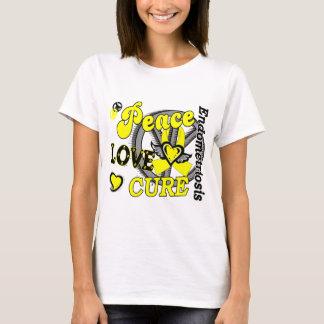 Peace Love Cure 2 Endometriosis T-Shirt