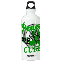 Peace Love Cure 2 Gastroparesis Aluminum Water Bottle