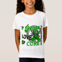 Peace Love Cure 2 Kidney Disease T-Shirt