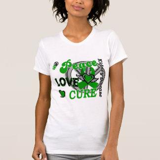 Peace Love Cure 2 Kidney Disease Tanktops