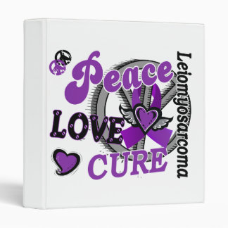 Peace Love Cure 2 Leiomyosarcoma Binders