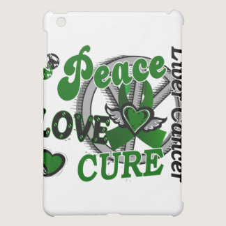 Peace Love Cure 2 Liver Cancer iPad Mini Cases