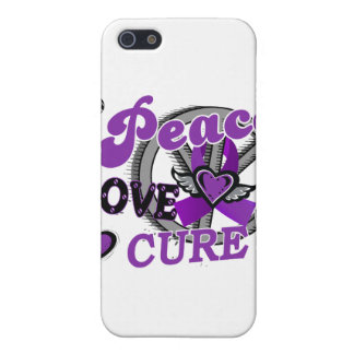 Peace Love Cure 2 Lupus Covers For iPhone 5