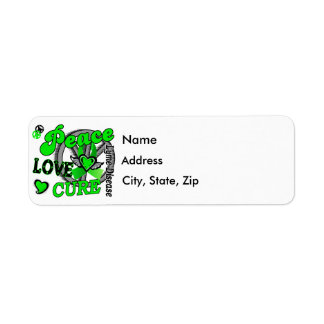 Peace Love Cure 2 Lyme Disease Label