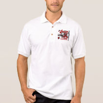 Peace Love Cure 2 Multiple Myeloma Polo Shirt