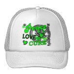 Peace Love Cure 2 Muscular Dystrophy Hats