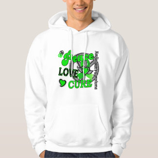 Peace Love Cure 2 Non-Hodgkin's Lymphoma Hoodie
