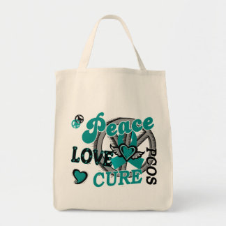 Peace Love Cure 2 PCOS Polycystic Ovarian Syndrome Bags