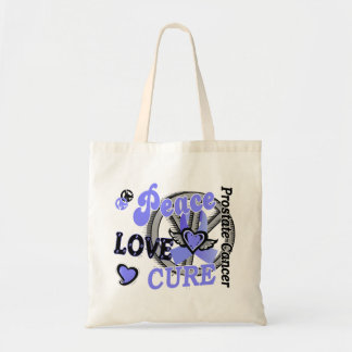 Peace Love Cure 2 Prostate Cancer Bag