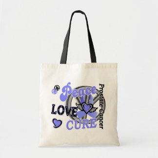 Peace Love Cure 2 Prostate Cancer Bags