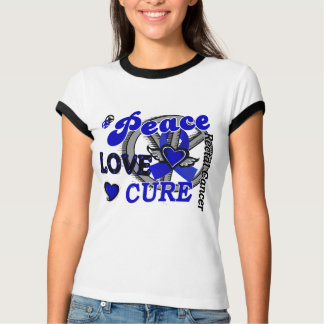 Peace Love Cure 2 Rectal Cancer / Anal Cancer T-Shirt