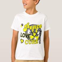 Peace Love Cure 2 Sarcoma T-Shirt