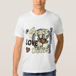 Peace Love Cure 2 SMA Spinal Muscular Atrophy T Shirt