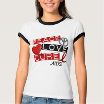 Peace, Love, Cure AIDS T-Shirt