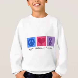 Peace Love Cure Alzheimers Sweatshirt