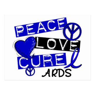 Peace Love Cure ARDS Postcard