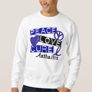 Peace Love Cure Arthritis Sweatshirt
