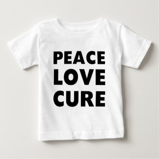 Peace Love Cure Baby T-Shirt