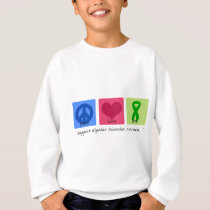 Peace Love Cure Bipolar Disorder Sweatshirt