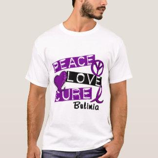 PEACE LOVE CURE BULIMIA T-Shirt