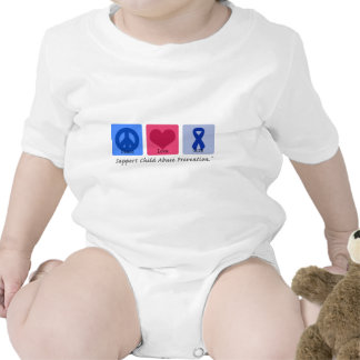 Peace Love Cure Child Abuse Tshirt