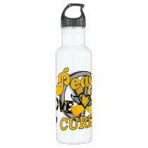 Peace Love Cure COPD 2 Stainless Steel Water Bottle