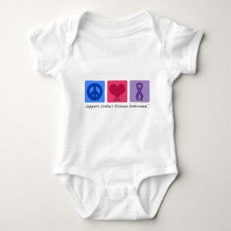 Peace Love Cure Crohns Disease T Shirt
