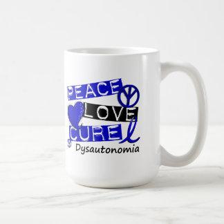 Peace Love Cure Dysautonomia Coffee Mugs