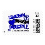 Peace Love Cure Dysautonomia Stamps