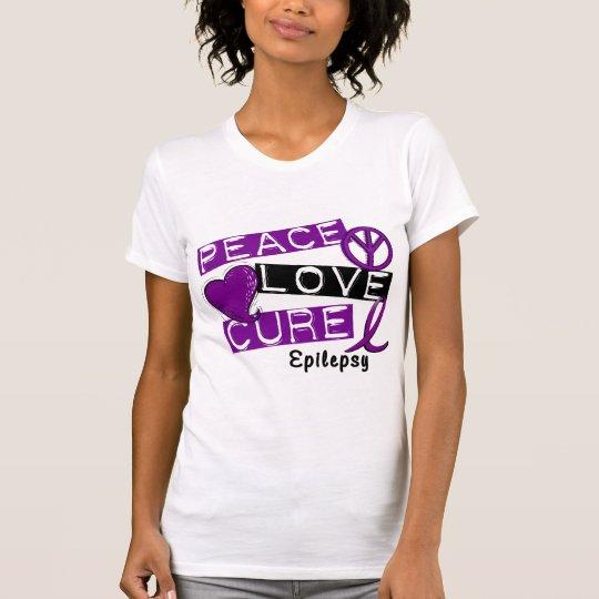 PEACE LOVE CURE EPILEPSY T-Shirt