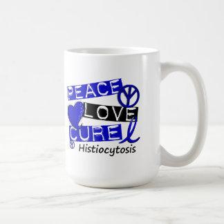 Peace Love Cure Histiocytosis Coffee Mug