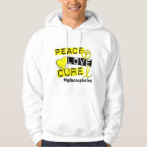 Peace Love Cure Hydrocephalus Hoodie