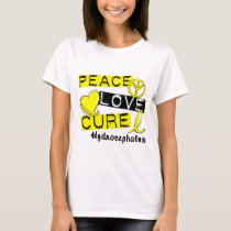 Peace Love Cure Hydrocephalus T-Shirt