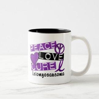 Peace Love Cure Leiomyosarcoma Coffee Mug