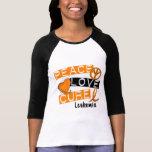 Peace Love Cure Leukemia Tshirt