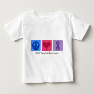 Peace Love Cure Lupus Baby T-Shirt