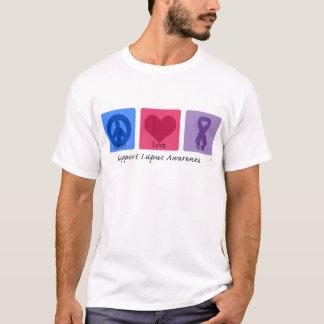 Peace Love Cure Lupus T-Shirt
