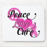 Peace Love Cure Mousepad