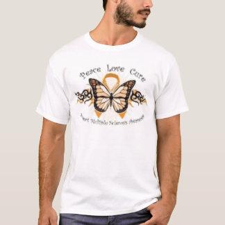 Peace Love Cure MS T-Shirt