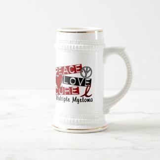 Peace Love Cure Multiple Myeloma Mug