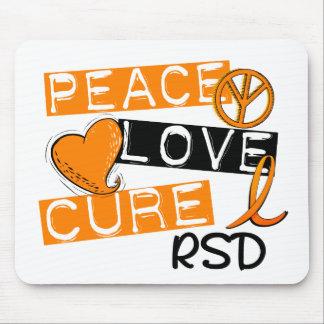 Peace Love Cure RSD Reflex Sympathetic Dystrophy Mouse Pad