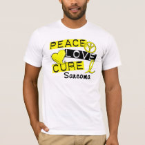 Peace Love Cure Sarcoma T-Shirt