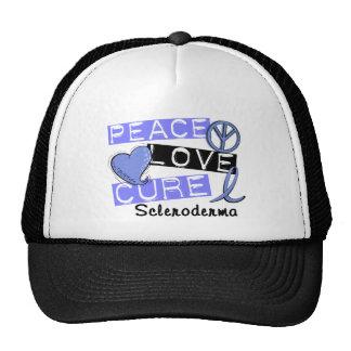 Peace Love Cure Scleroderma Mesh Hat